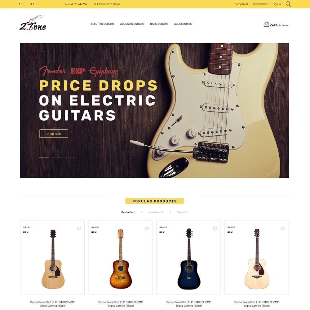 theme - Искусство и Культура - 2Tone - Guitar Store - 2