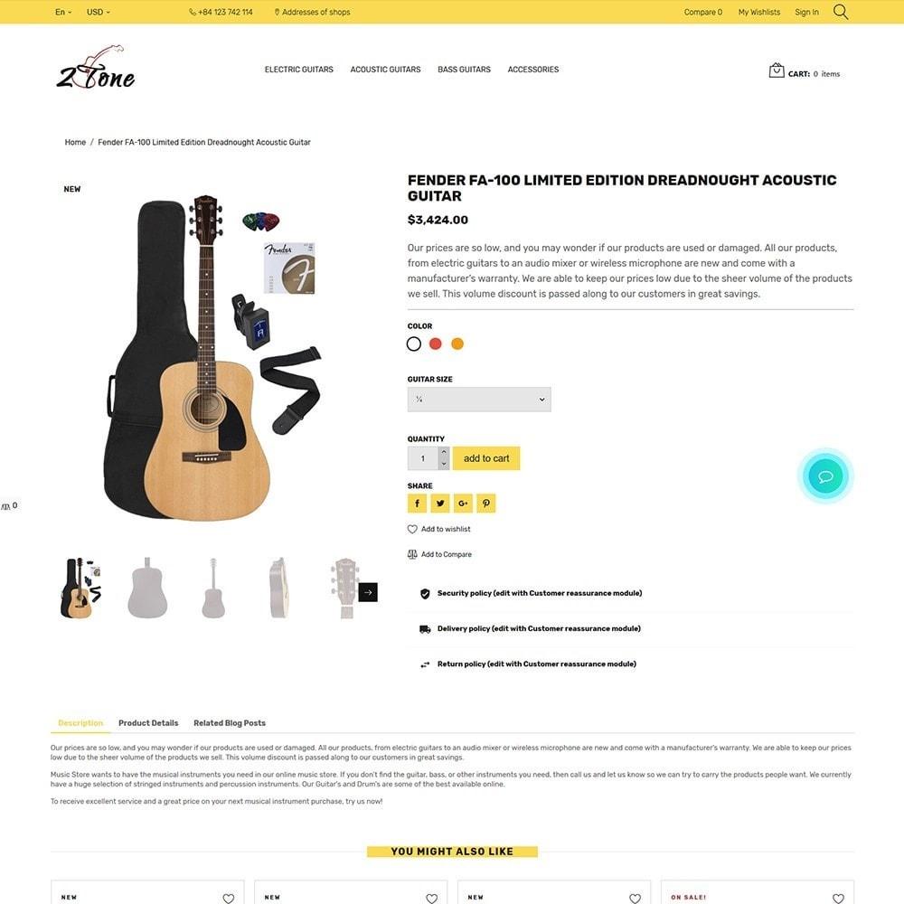 theme - Kultura & Sztuka - 2Tone - Guitar Store - 3