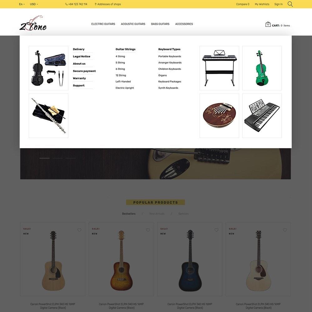 theme - Искусство и Культура - 2Tone - Guitar Store - 5