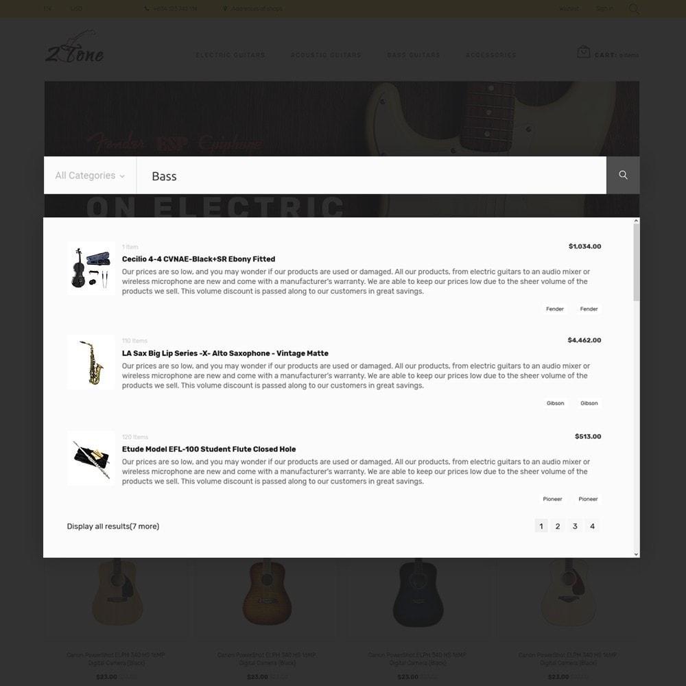 theme - Kultura & Sztuka - 2Tone - Guitar Store - 6