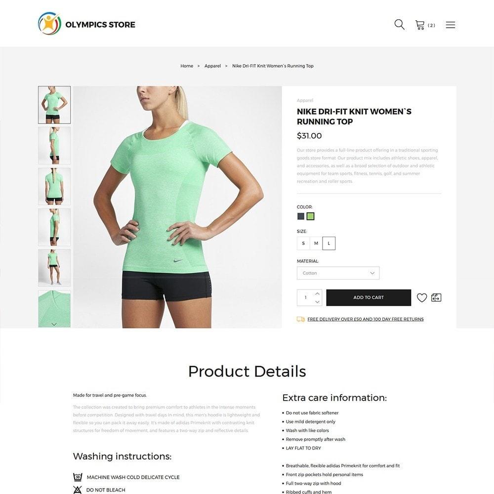 theme - Sport, Attività & Viaggi - Olympics Store - Professional Sports - 3