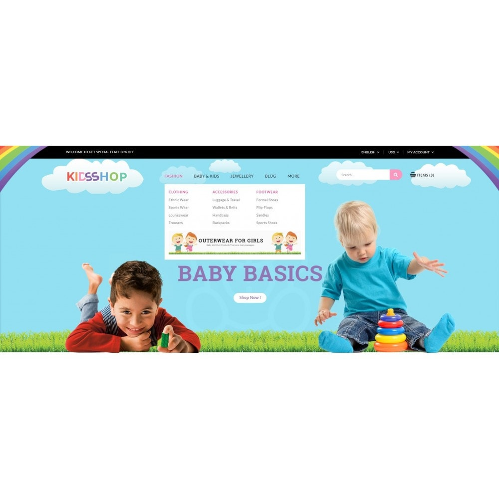 theme - Kids & Toys - Kids Shop - 6