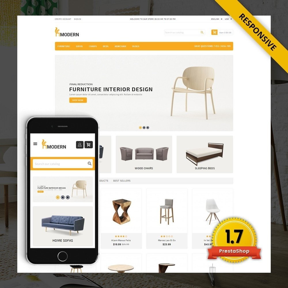 theme - Heim & Garten - Modern  -  Furniture store - 1