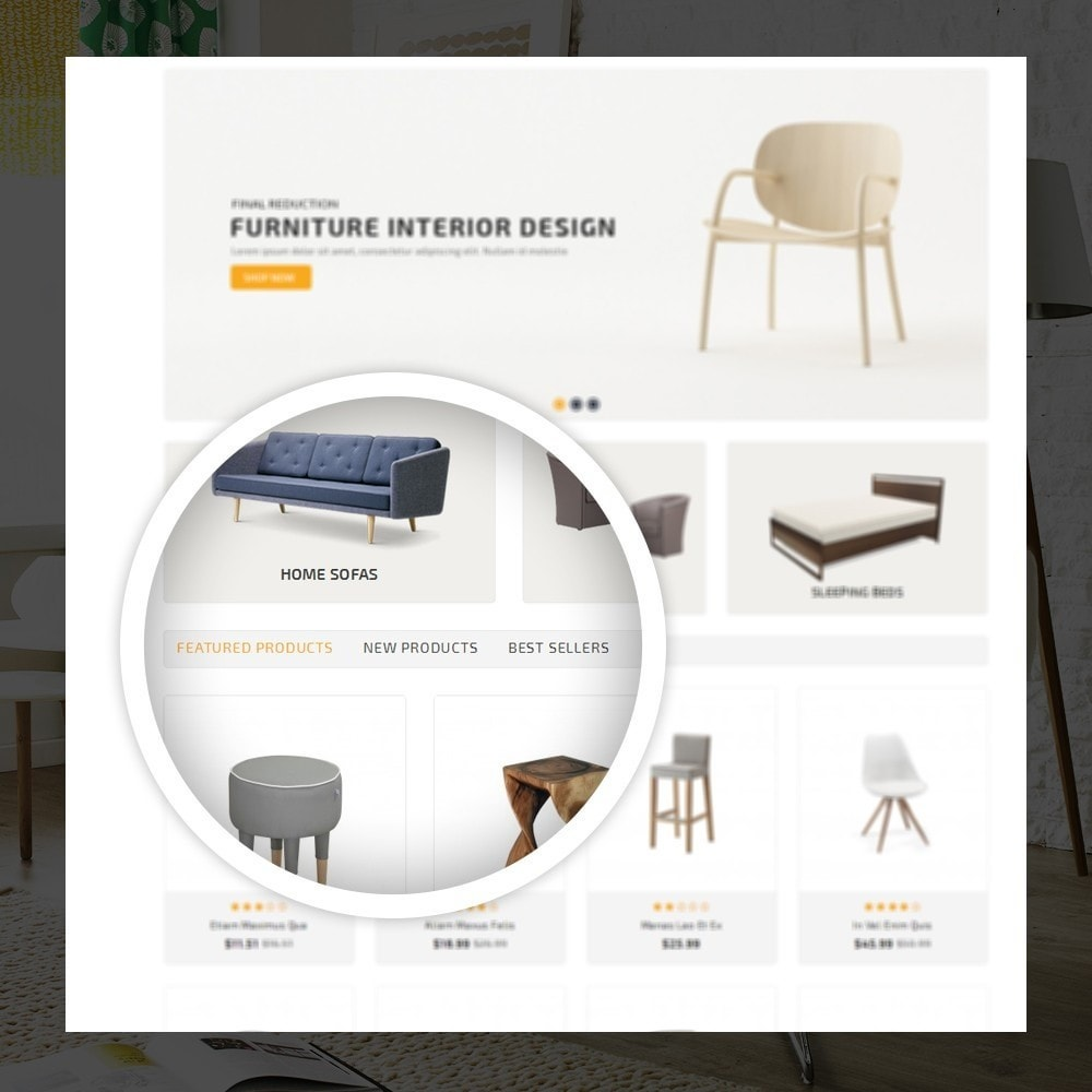 theme - Heim & Garten - Modern  -  Furniture store - 9
