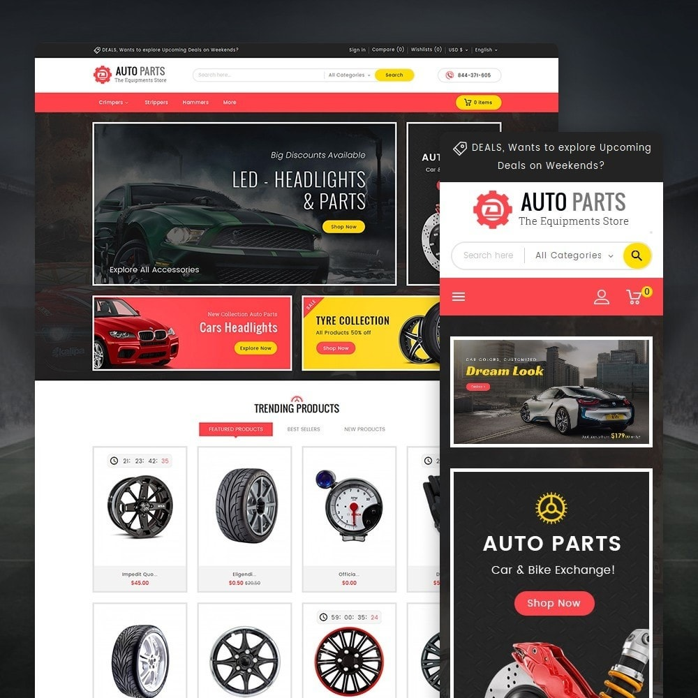 theme - Coches y Motos - Auto Equipment Parts - 1