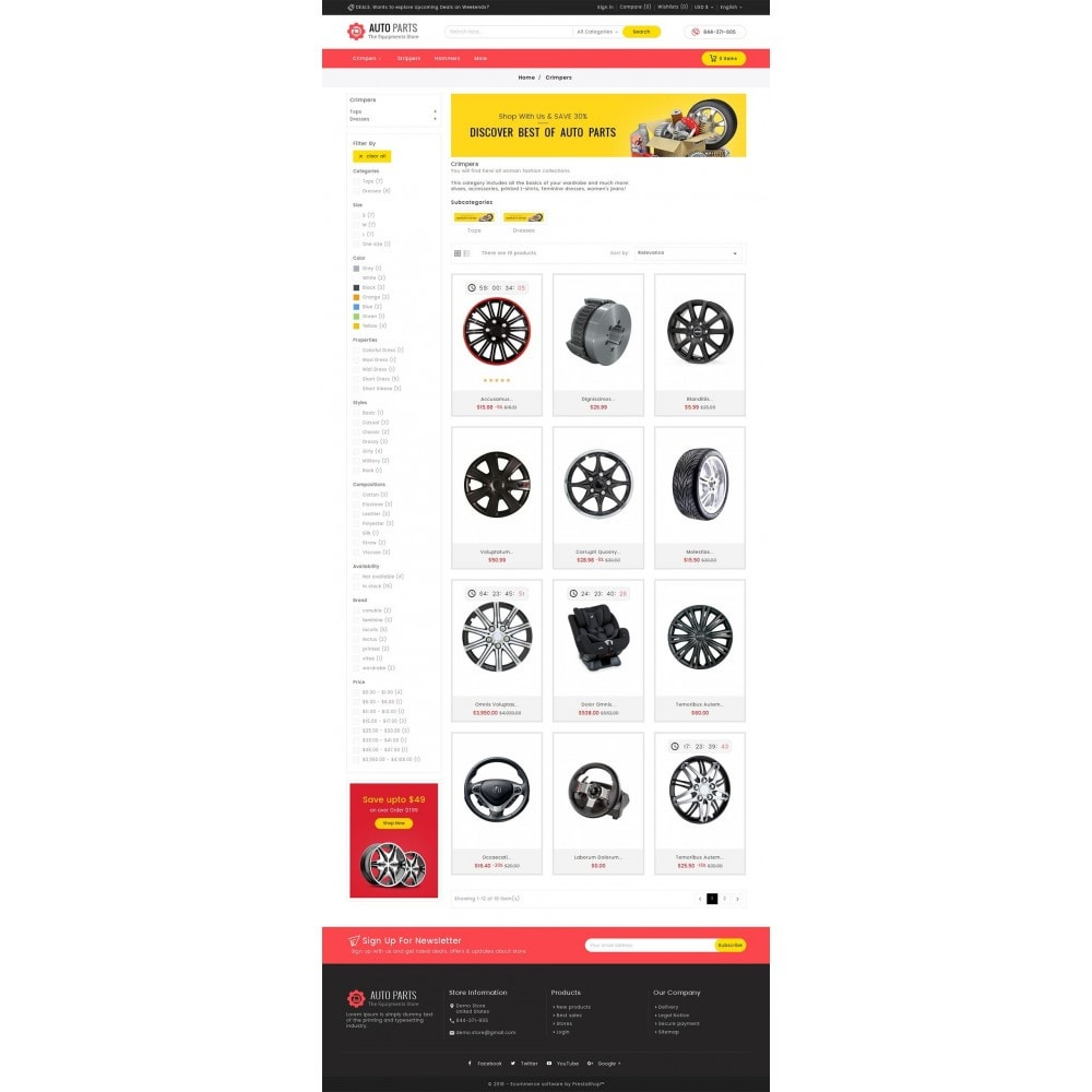 theme - Samochody - Auto Equipment Parts - 3