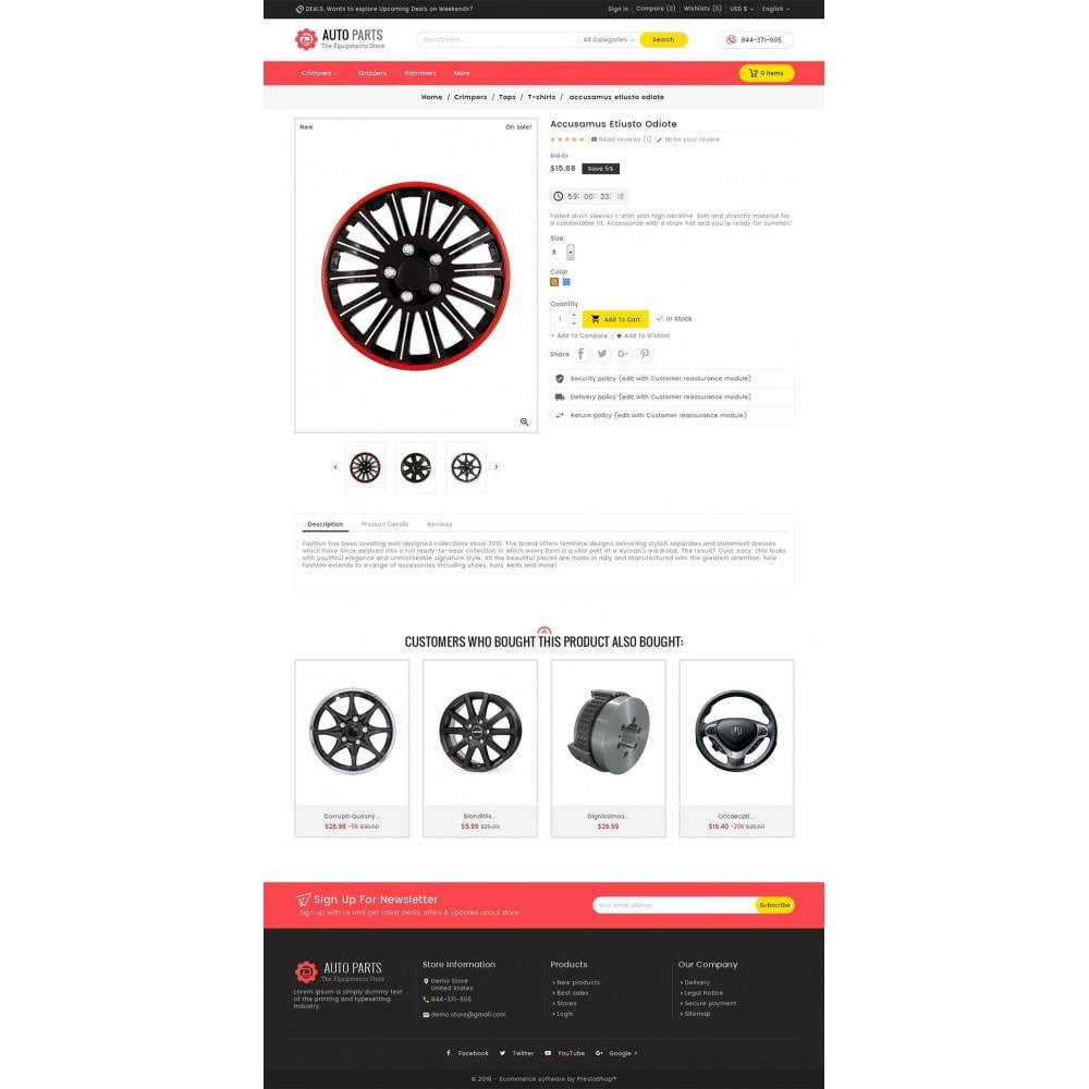 theme - Coches y Motos - Auto Equipment Parts - 5