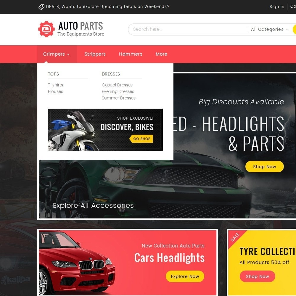 theme - Coches y Motos - Auto Equipment Parts - 8