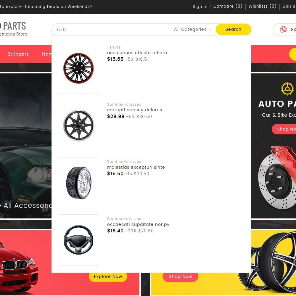 theme - Coches y Motos - Auto Equipment Parts - 9
