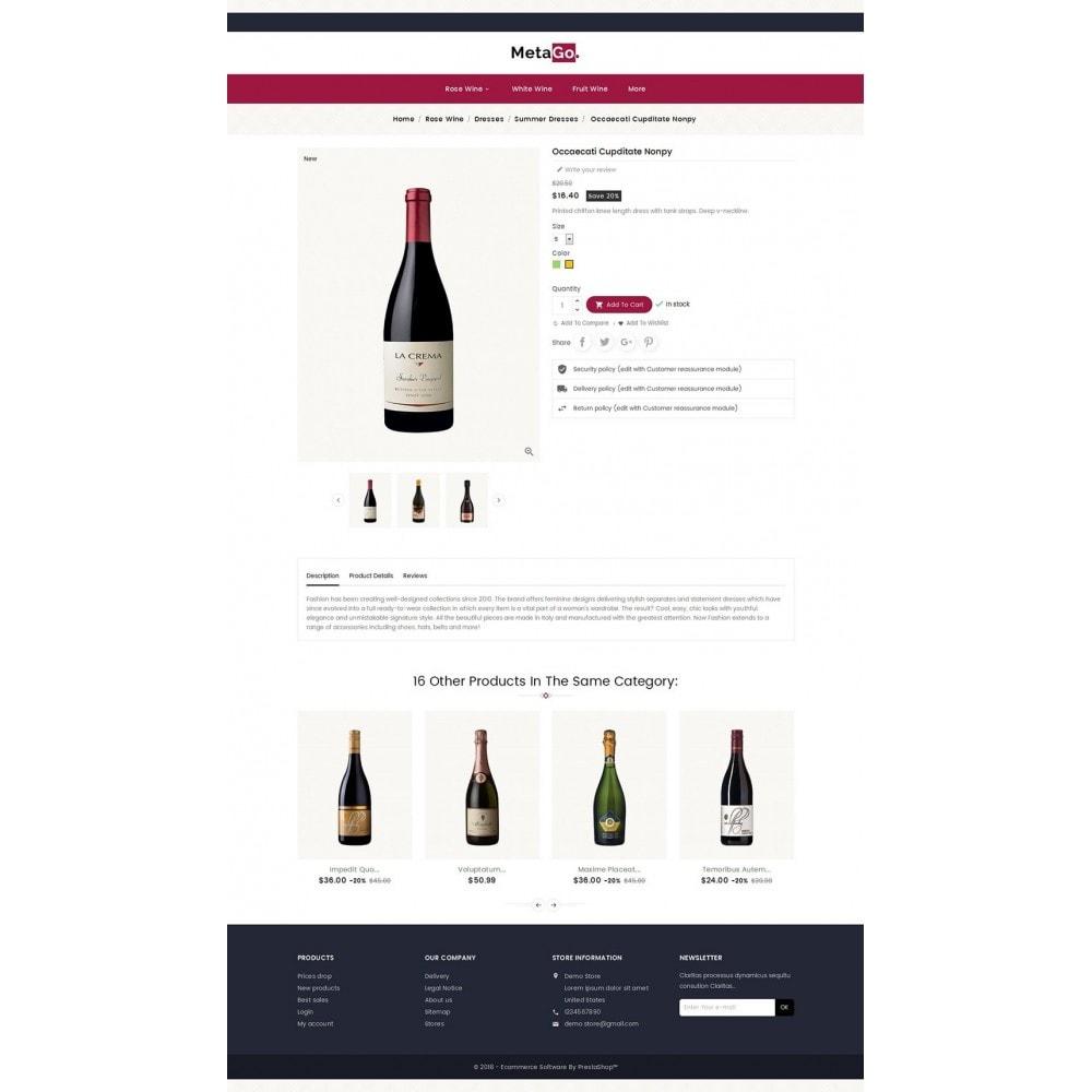 theme - Napoje & Wyroby tytoniowe - Melano Wine Club - 5