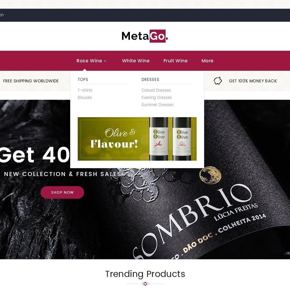 theme - Napoje & Wyroby tytoniowe - Melano Wine Club - 8