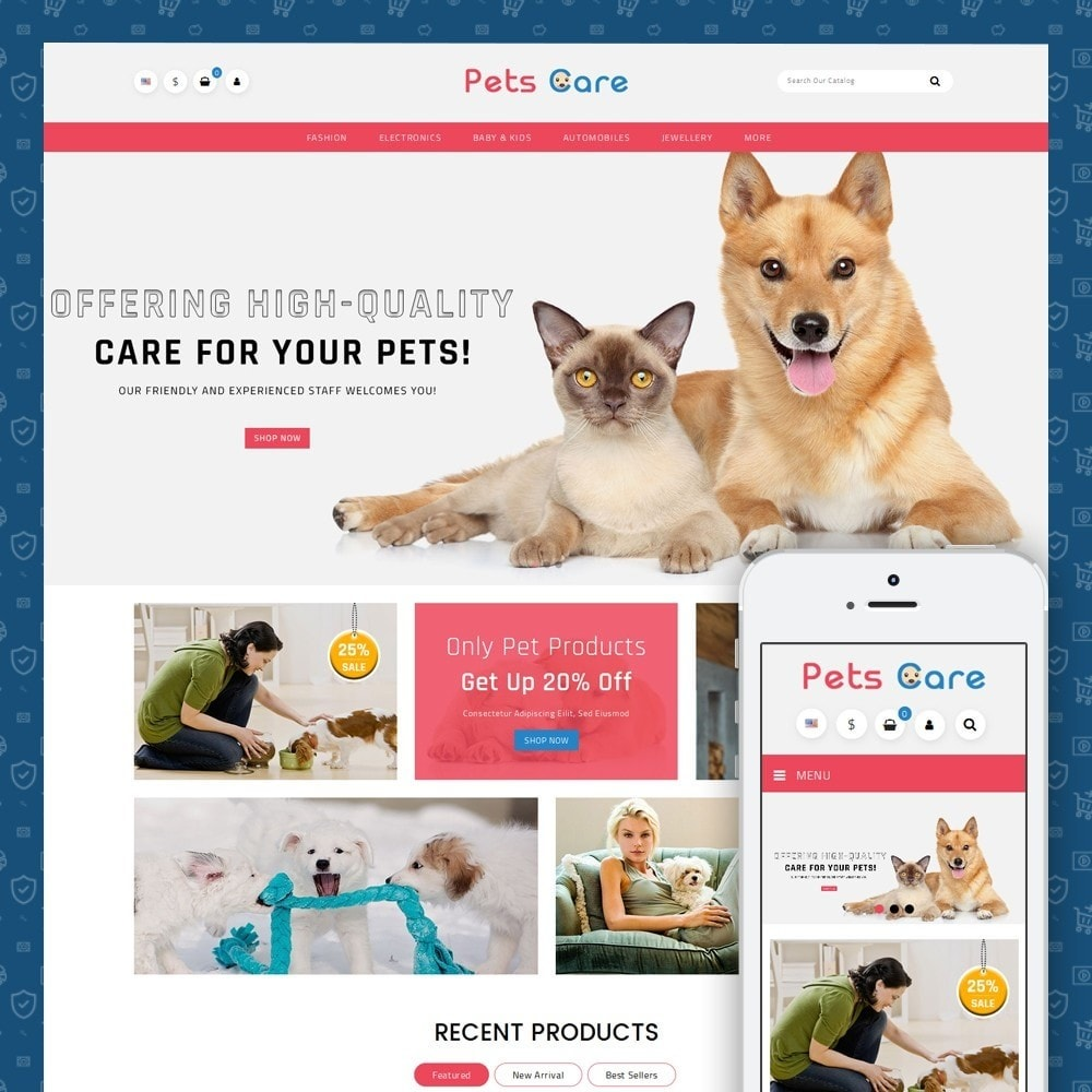 theme - Animals & Pets - Pets Care - Animals Store - 1