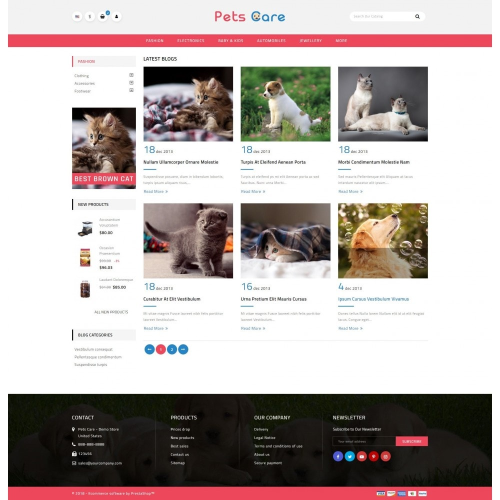 theme - Animals & Pets - Pets Care - Animals Store - 10