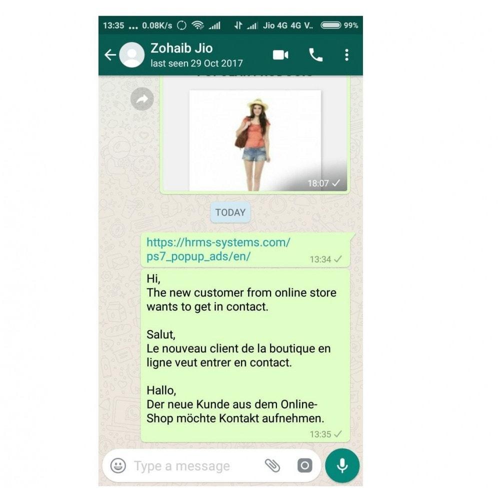 module - Wsparcie & Czat online - WhatsApp Chat Support - 1