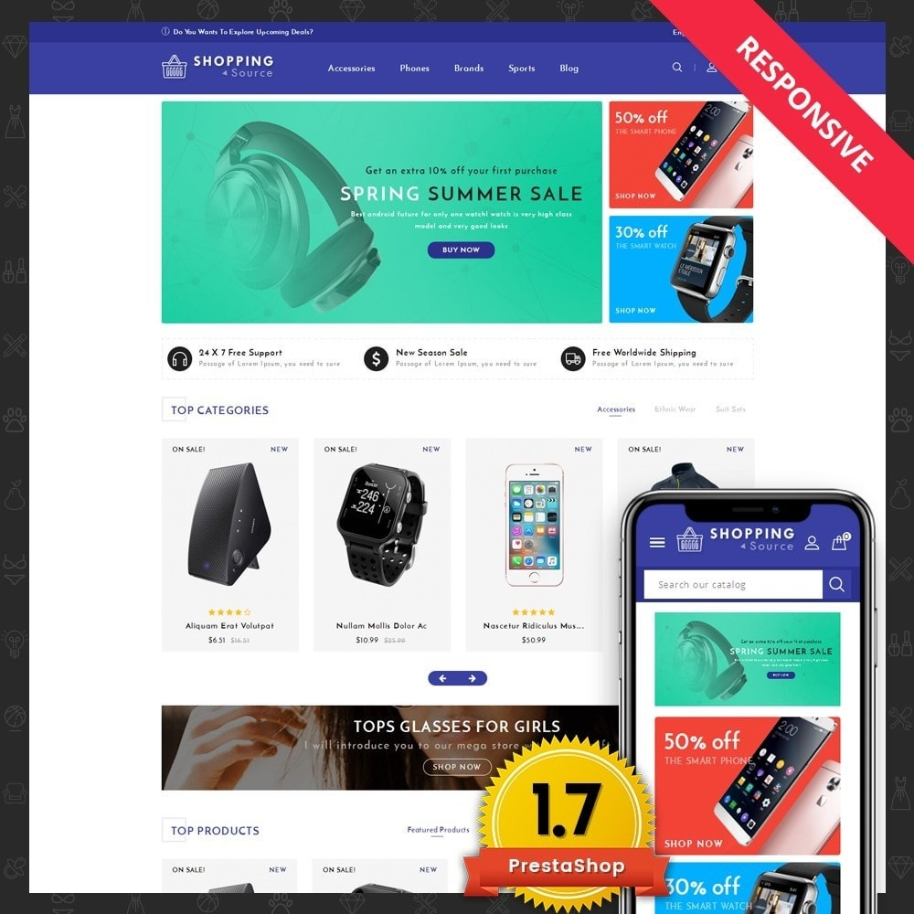 theme - Lebensmittel & Restaurants - Shopping Market - 1