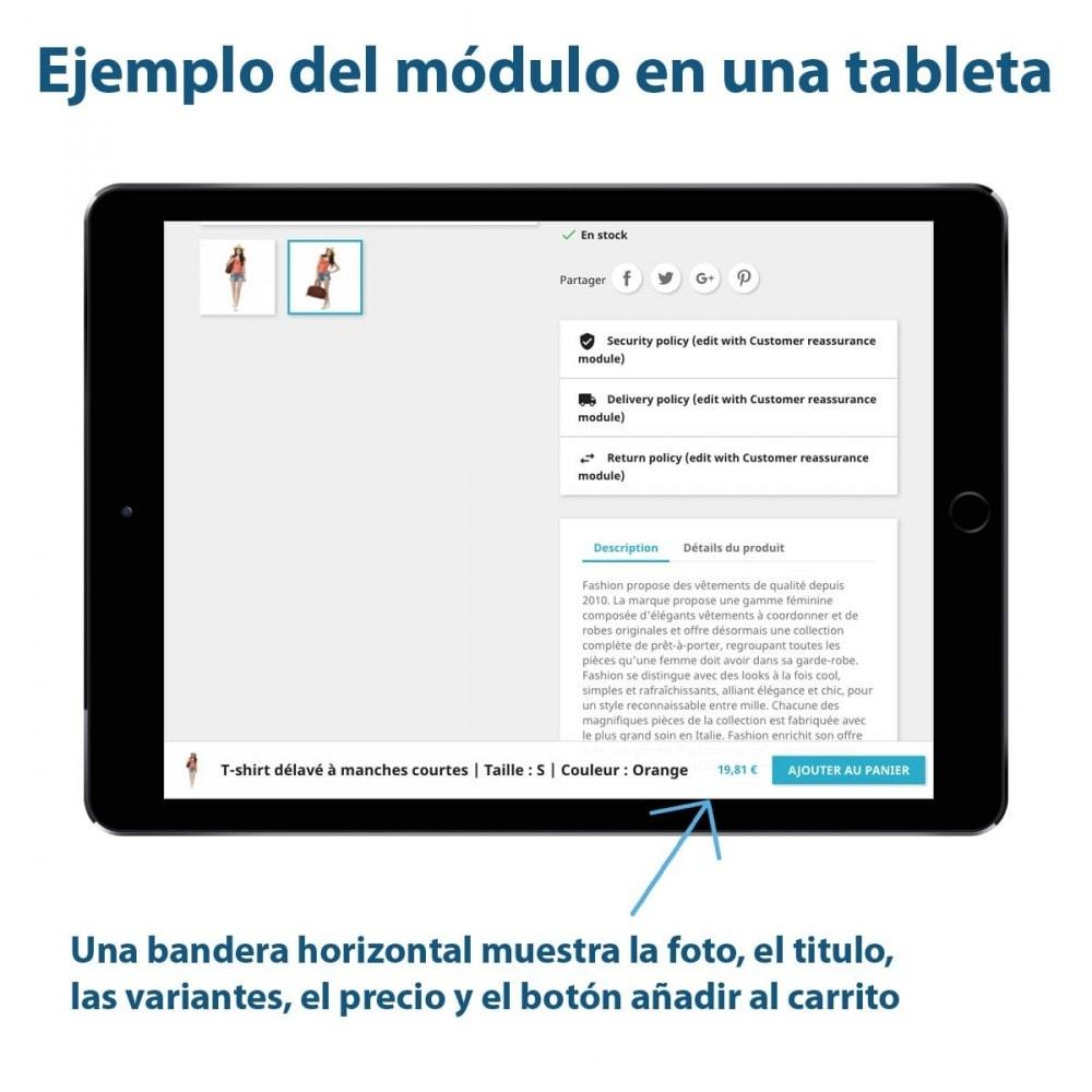 module - Inscripción y Proceso del pedido - Sticky Botón Añadir al Carrito en Páginas Producto - 2