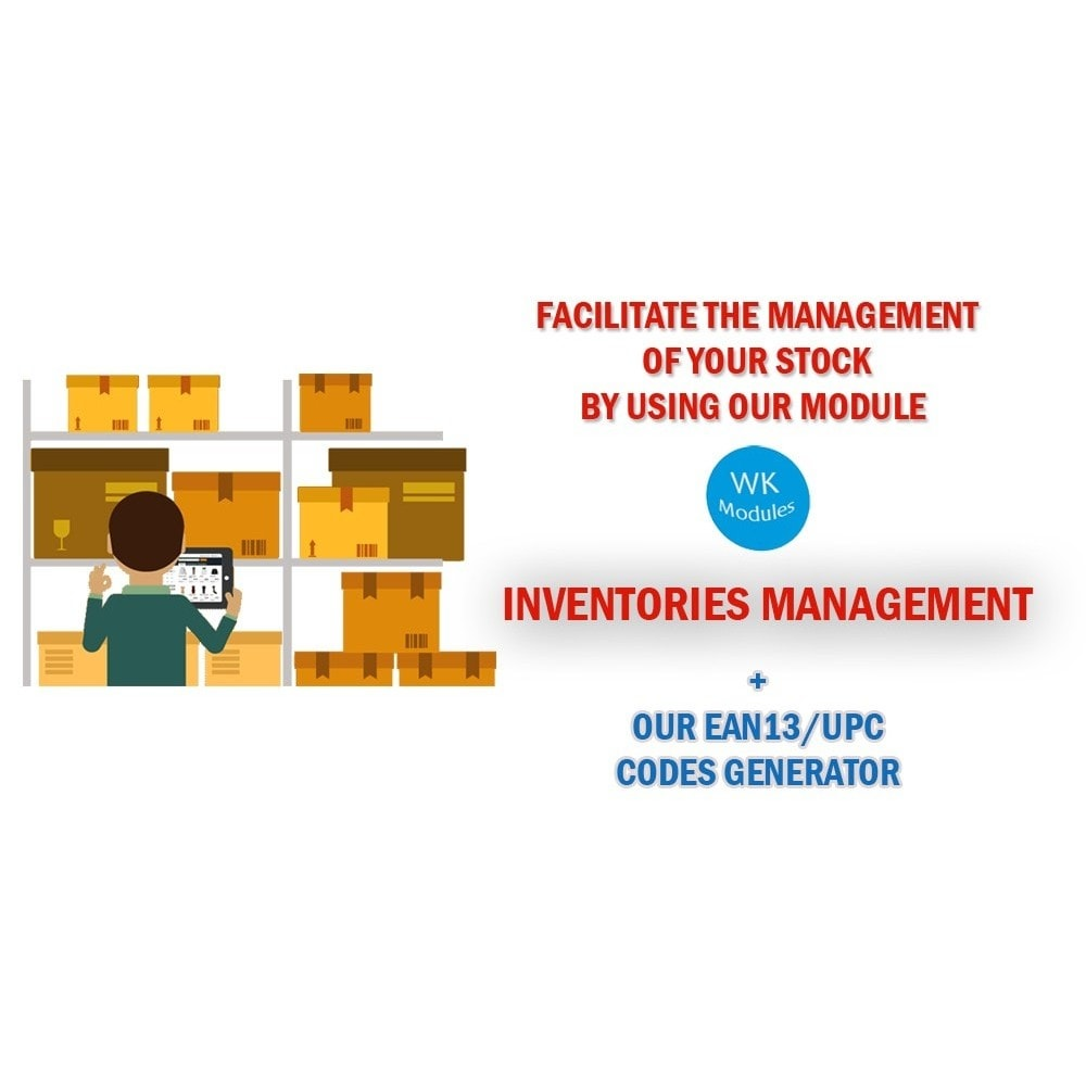module - Stock & Supplier Management - Wk Inventory Management - 1