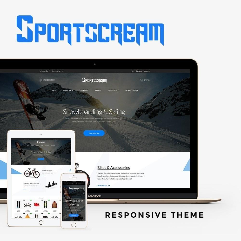 theme - Спорт и Путешествия - Sportscream - 1