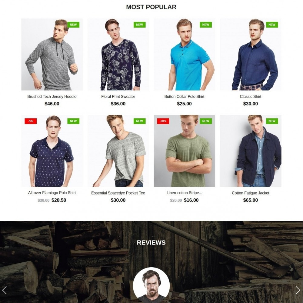 theme - Moda & Calzature - Lumberjack Men's Wear - 3