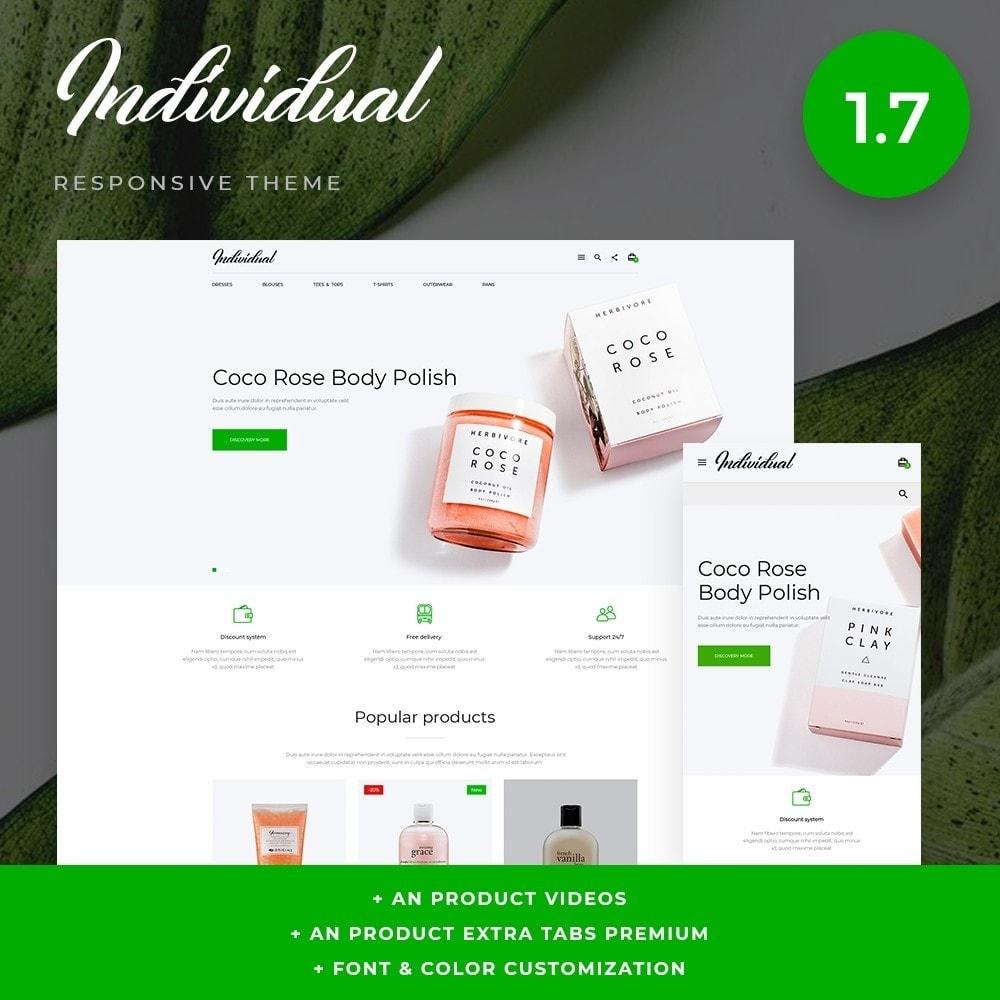 theme - Zdrowie & Uroda - Individual Cosmetics - 1