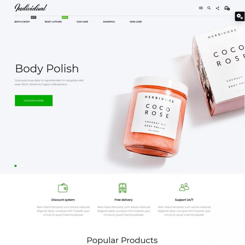 theme - Zdrowie & Uroda - Individual Cosmetics - 2