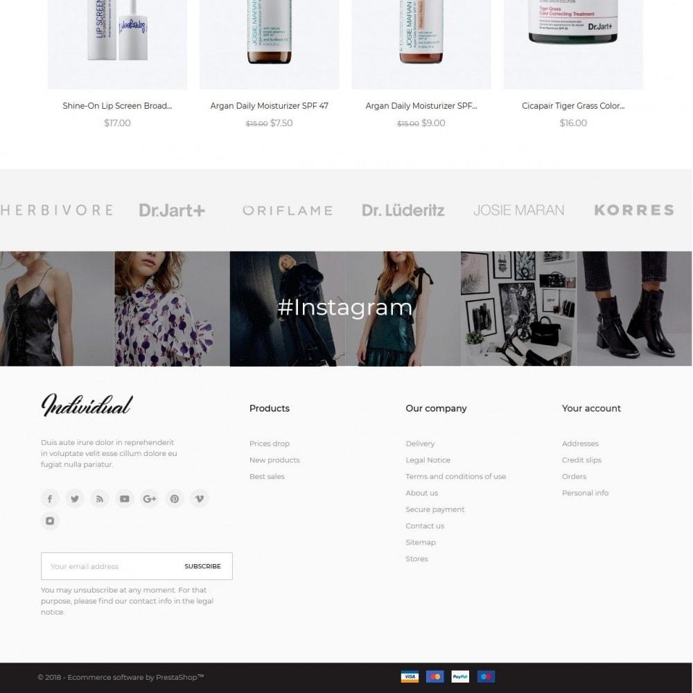 theme - Zdrowie & Uroda - Individual Cosmetics - 4