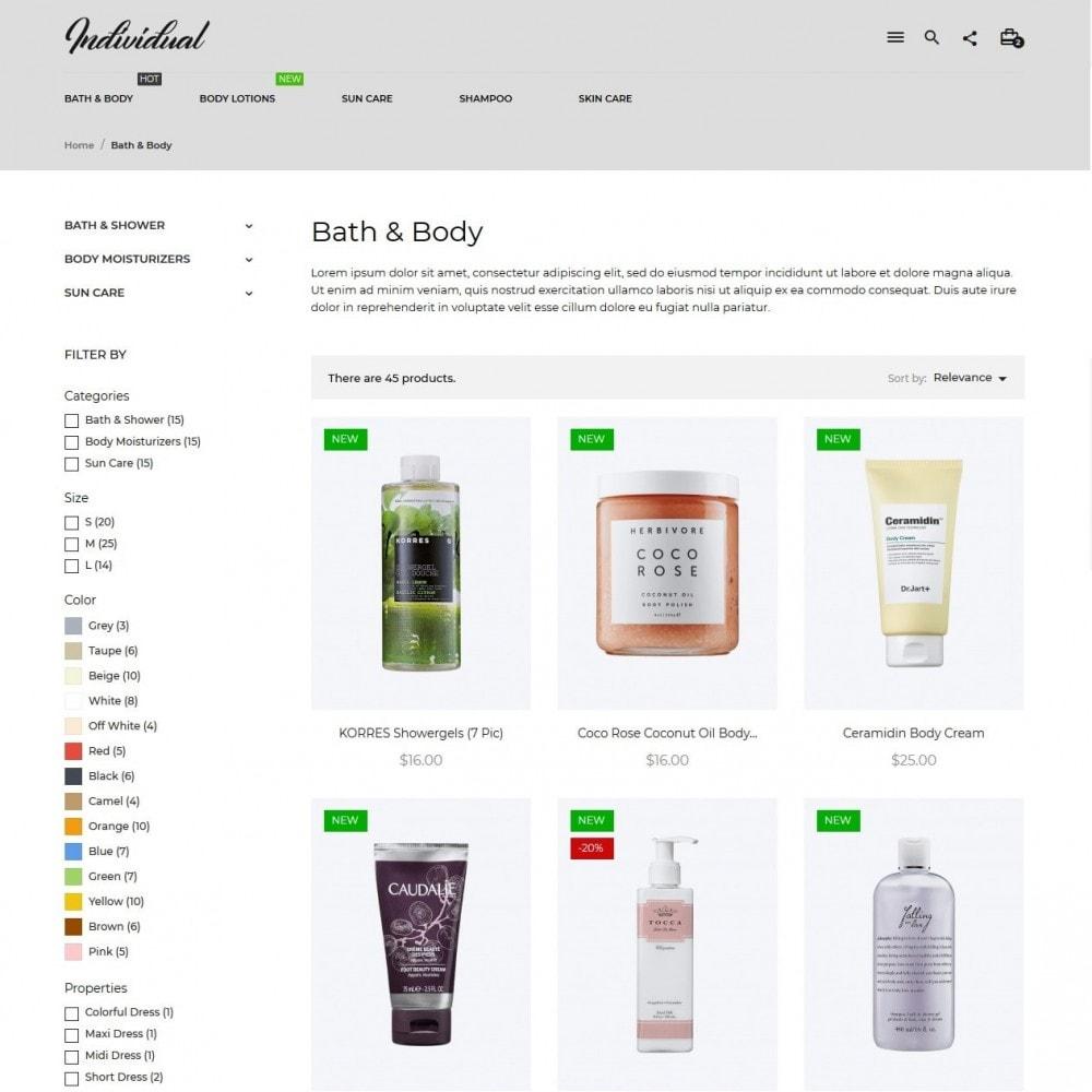 theme - Zdrowie & Uroda - Individual Cosmetics - 5