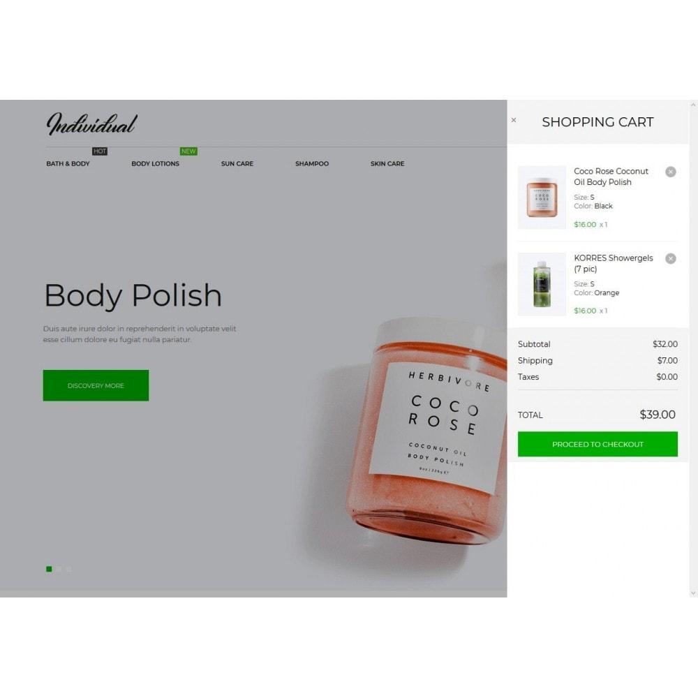 theme - Zdrowie & Uroda - Individual Cosmetics - 7