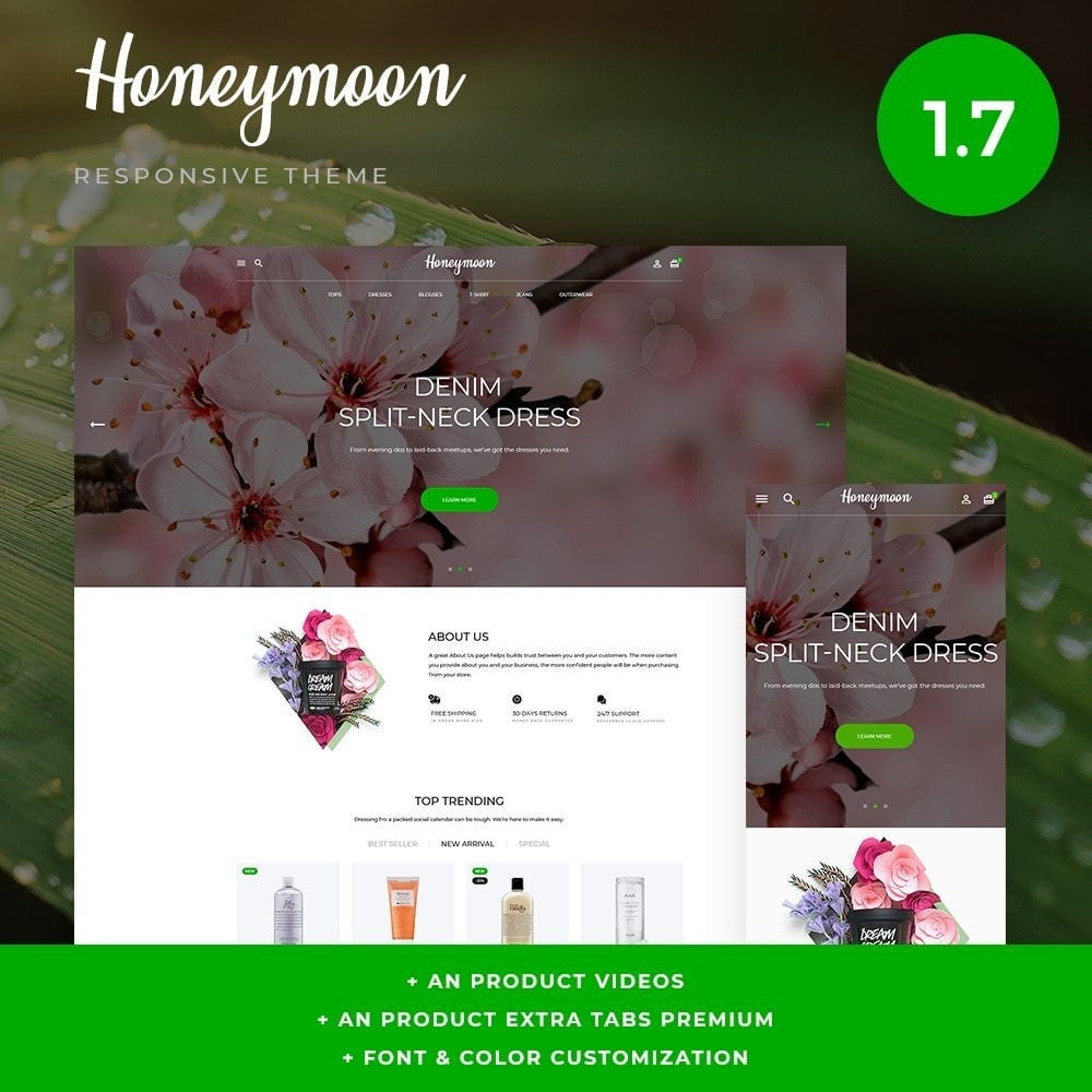 theme - Health & Beauty - Honeymoon Cosmetics - 1