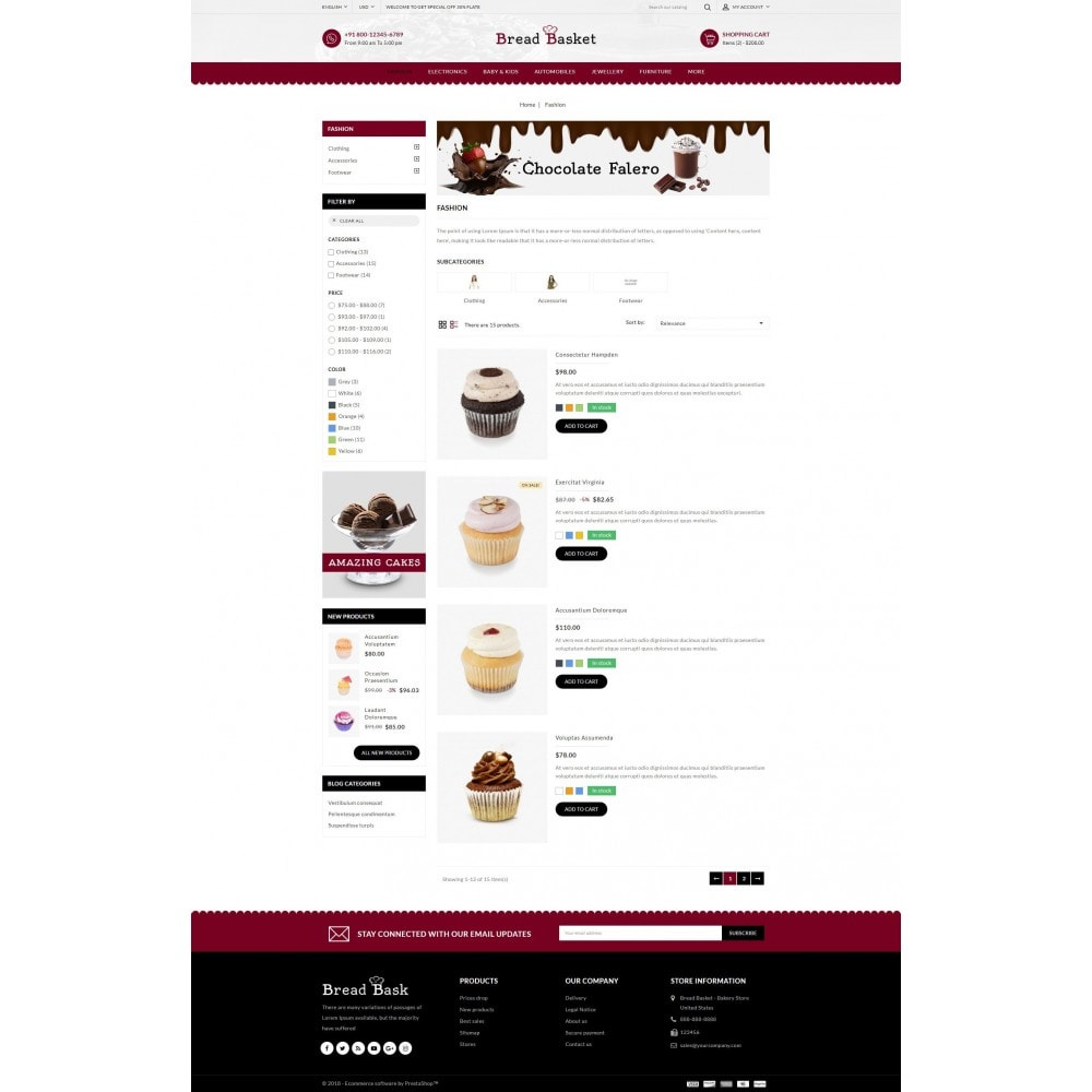theme - Gastronomía y Restauración - Bread Basket - Bakery Shop - 4