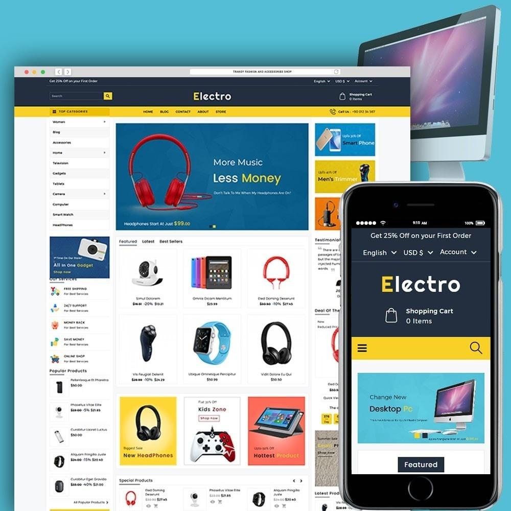 theme - Электроника и компьютеры - Electro Electronics Store - 1