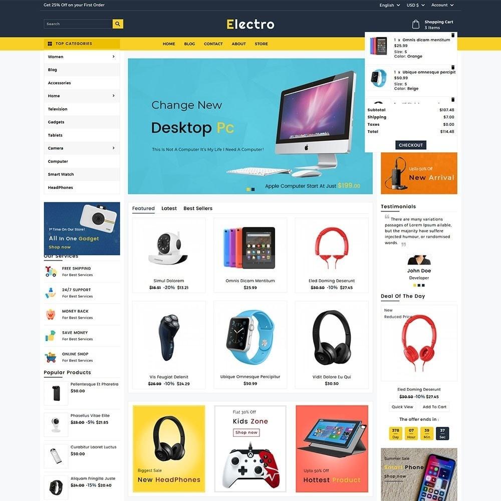 theme - Электроника и компьютеры - Electro Electronics Store - 3
