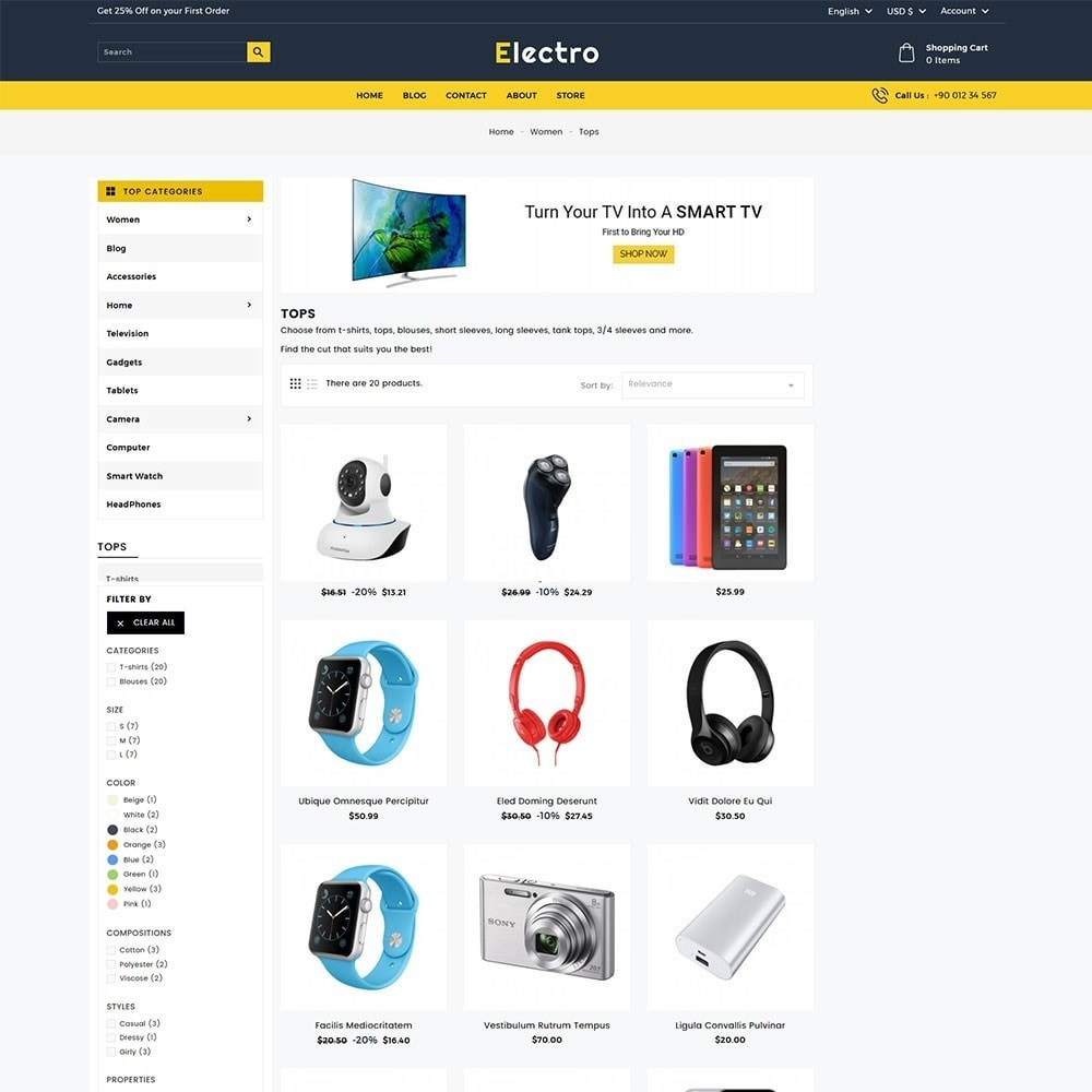 theme - Electronics & Computers - Electro Electronics Store - 5