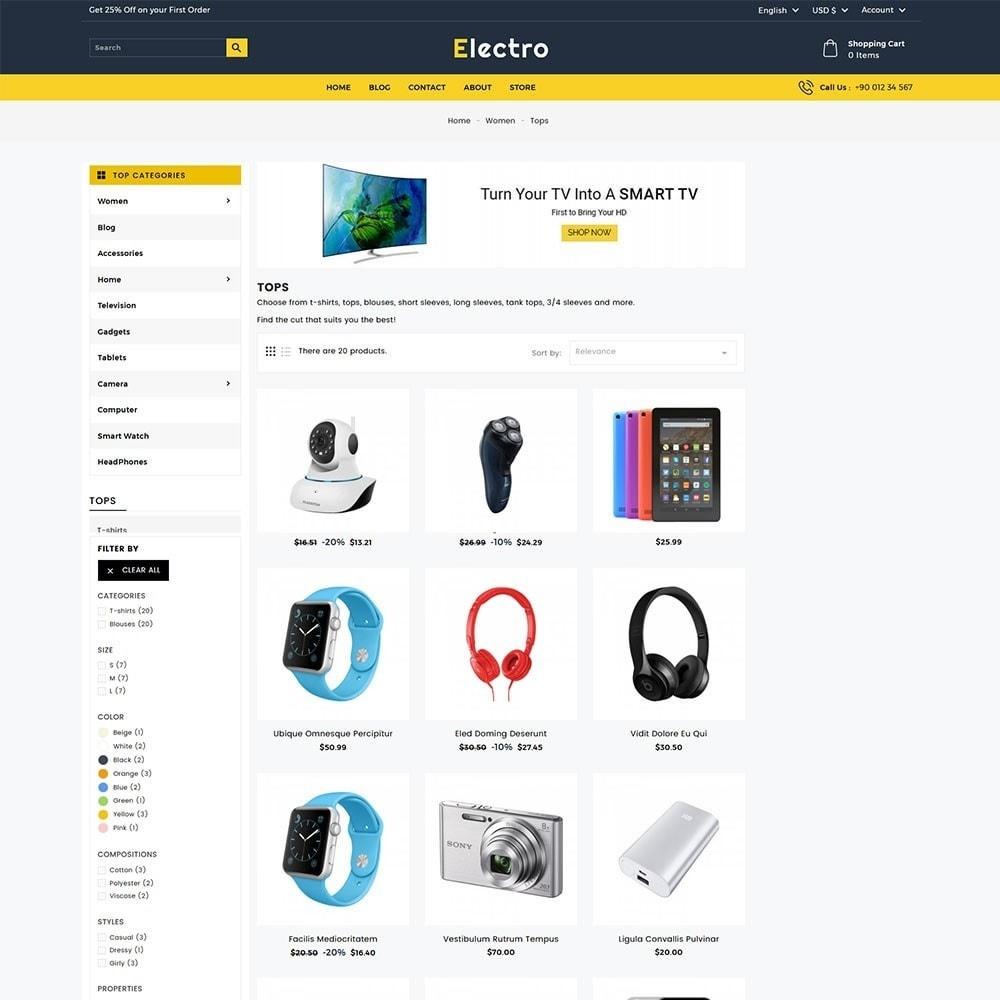 theme - Электроника и компьютеры - Electro Electronics Store - 5