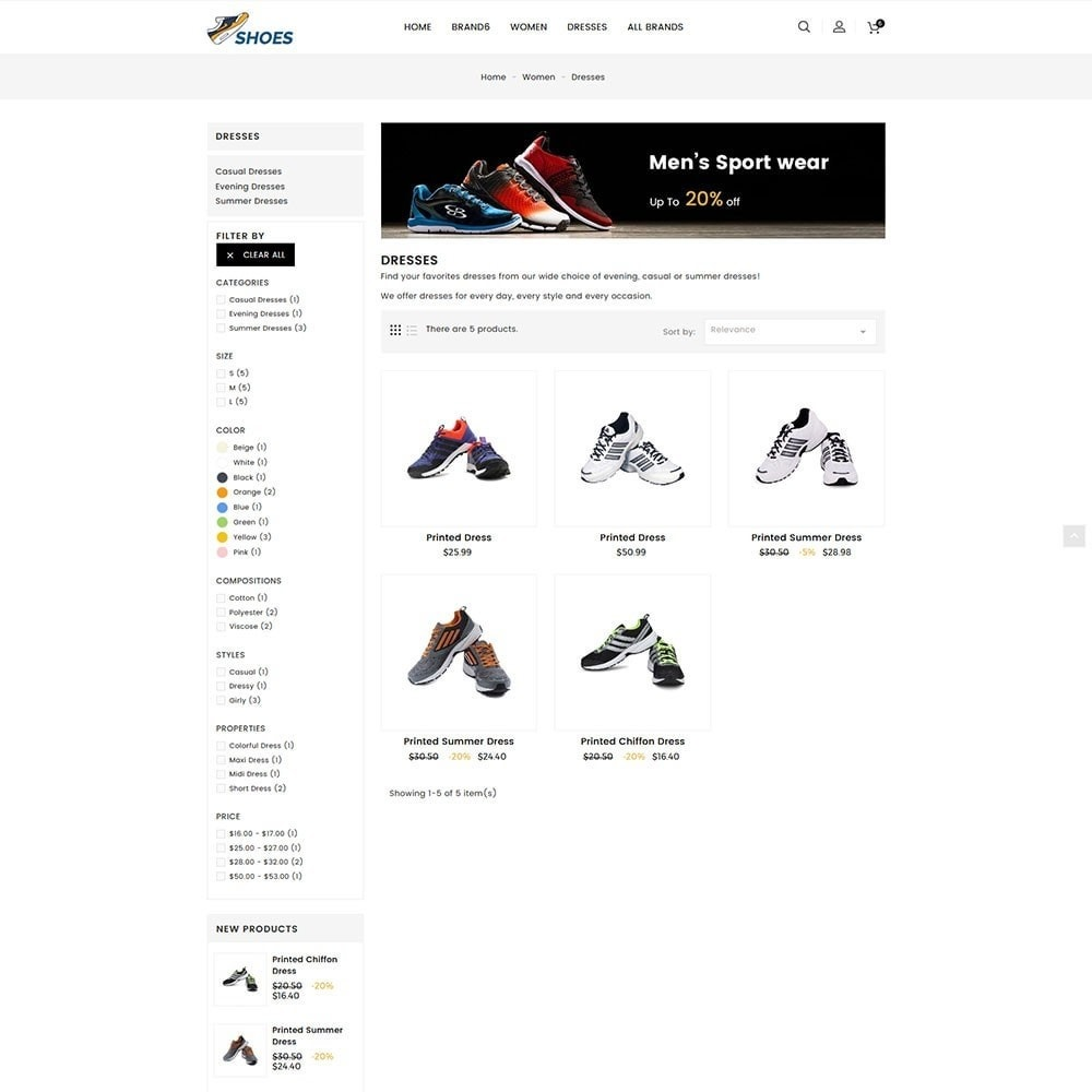 theme - Mode & Schoenen - Shoes Store - 5