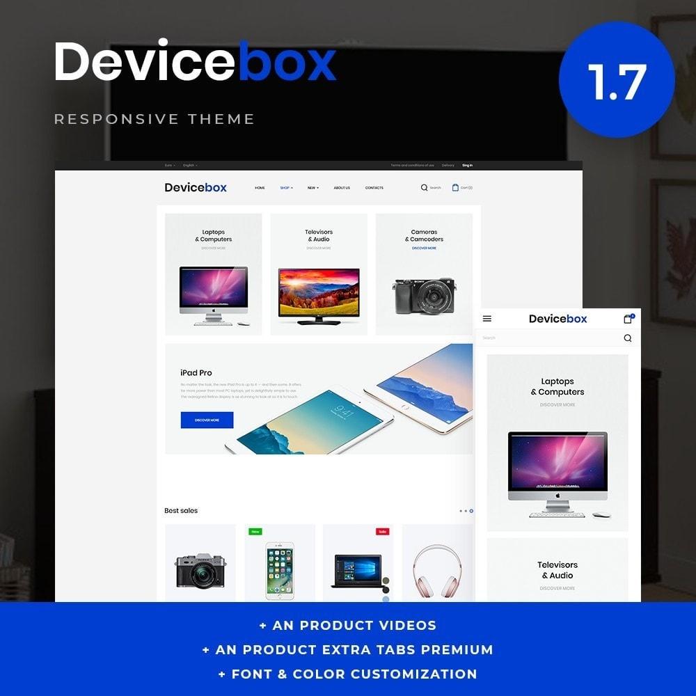 theme - Electronique & High Tech - Devicebox - High-tech Shop - 1