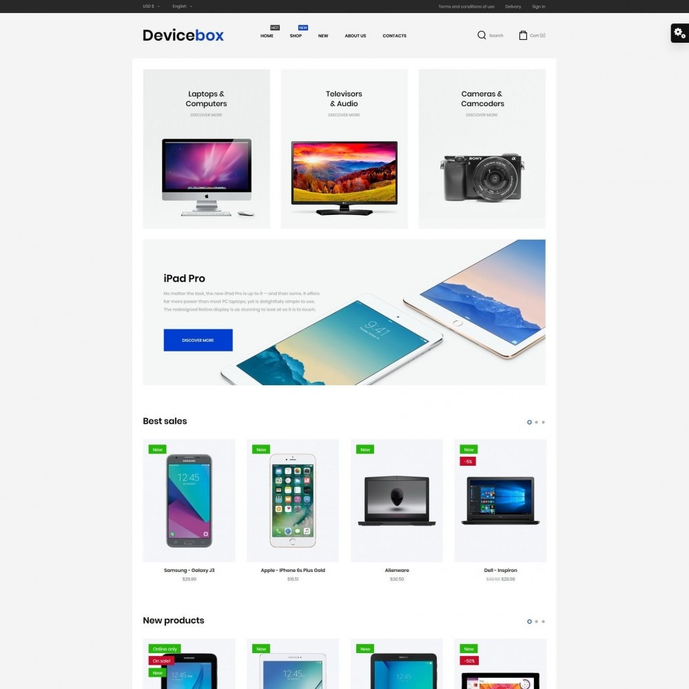theme - Elettronica & High Tech - Devicebox - High-tech Shop - 2