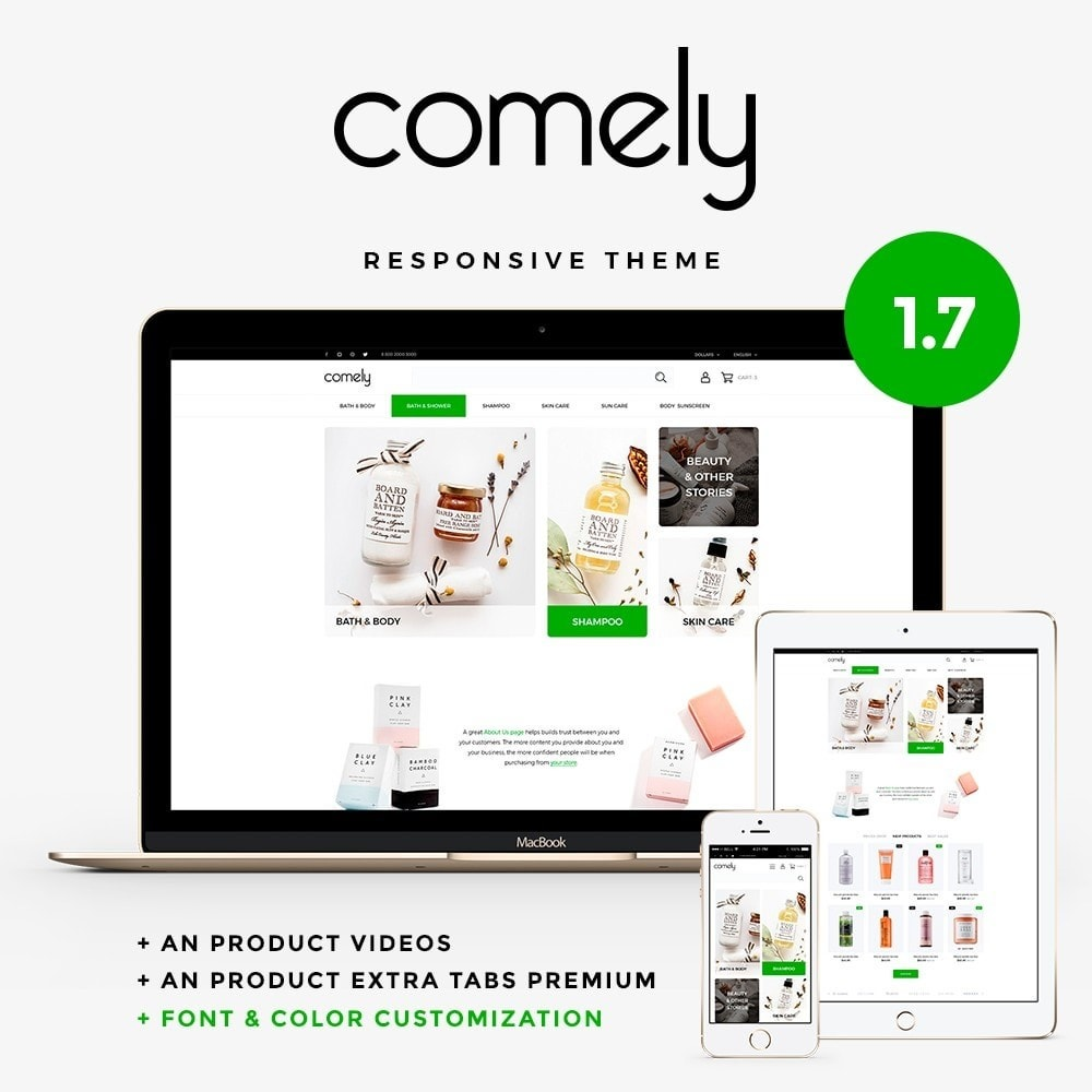 theme - Health & Beauty - Comely - 1