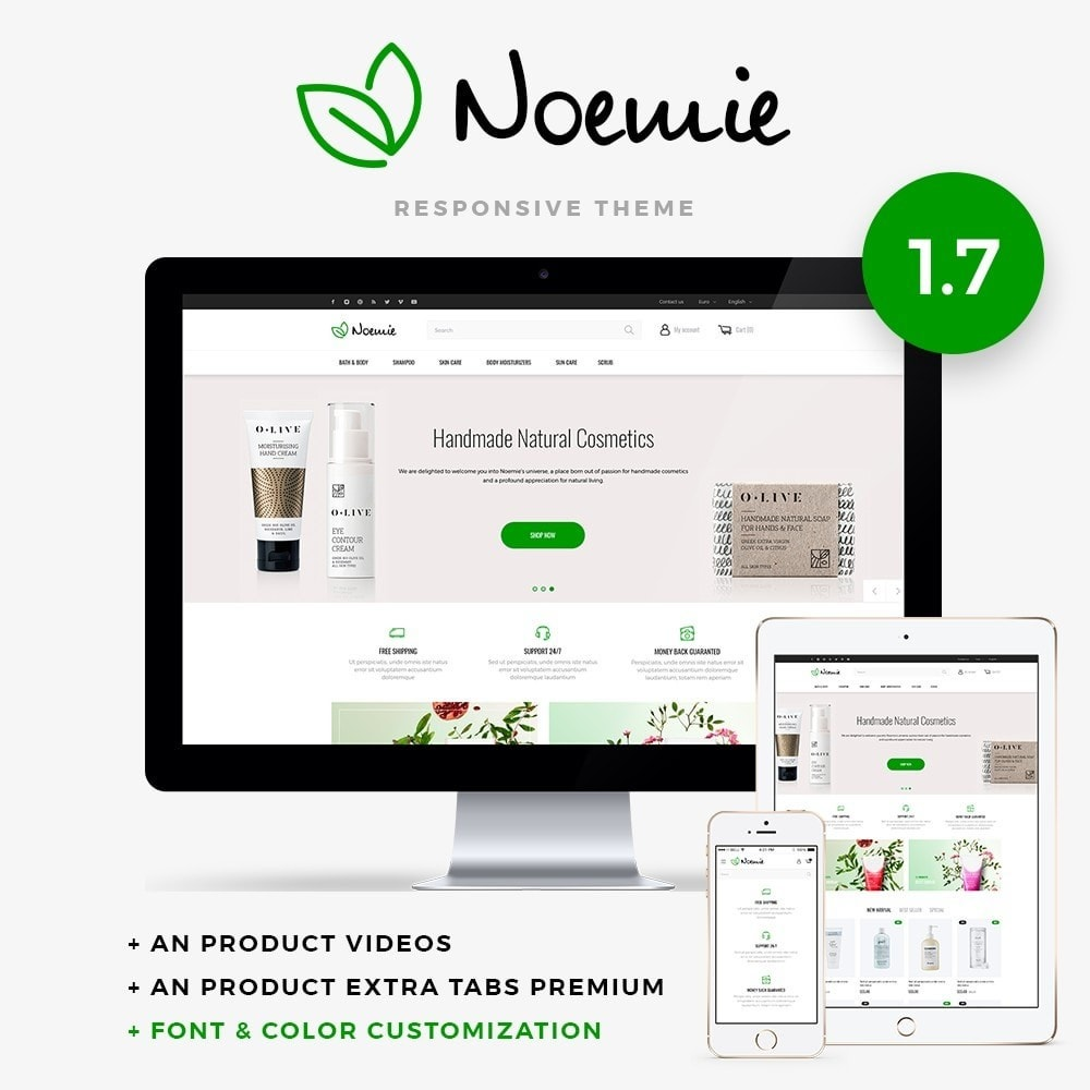 theme - Health & Beauty - Noemie Cosmetics - 1