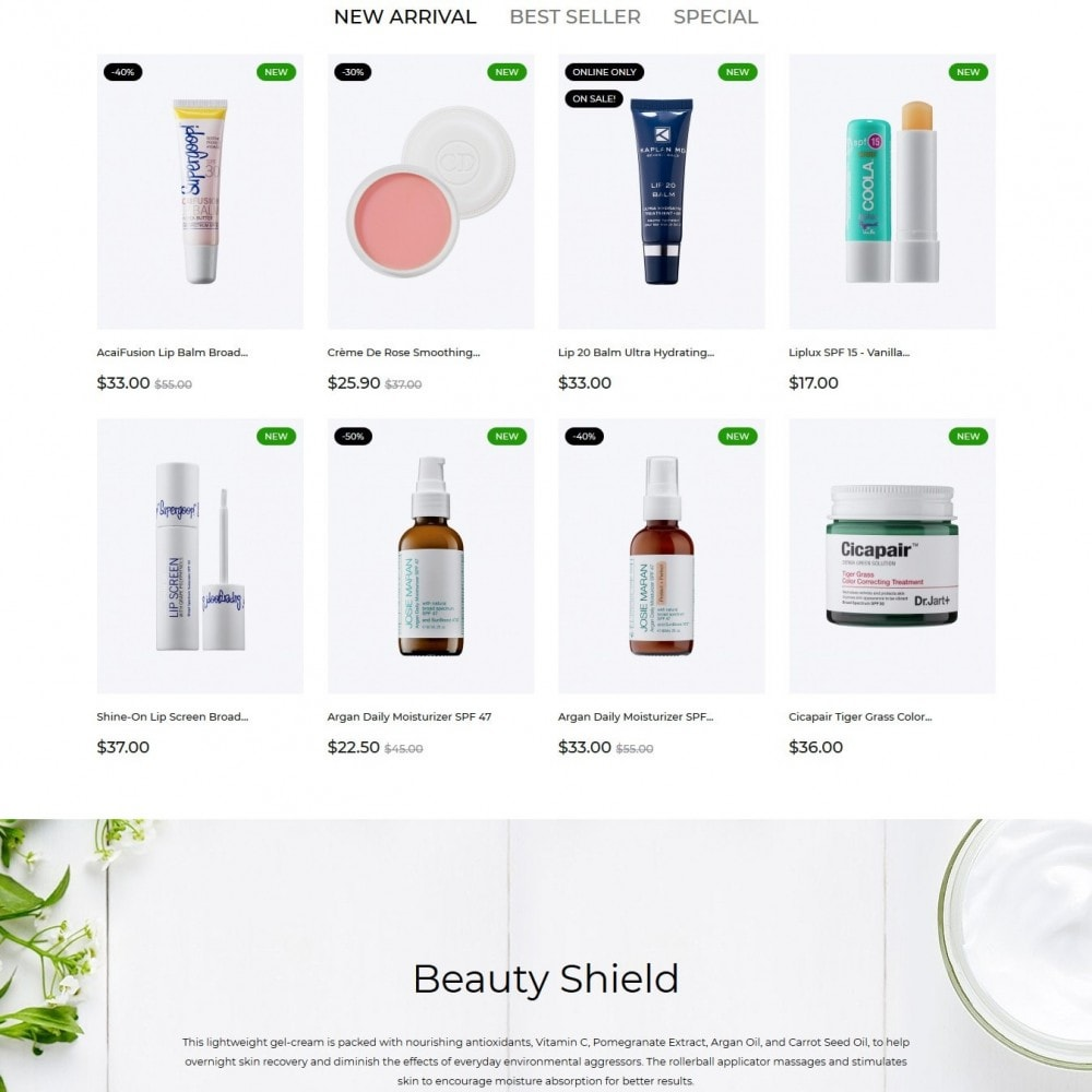 theme - Health & Beauty - Noemie Cosmetics - 3