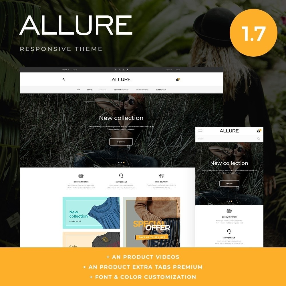 theme - Moda y Calzado - Allure Fashion Store - 1
