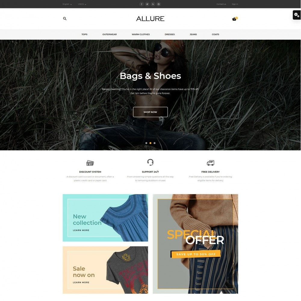 theme - Moda y Calzado - Allure Fashion Store - 2