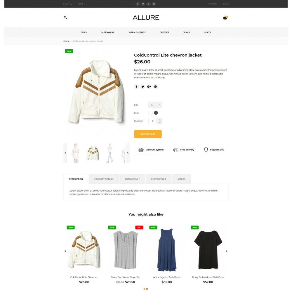 theme - Moda y Calzado - Allure Fashion Store - 8
