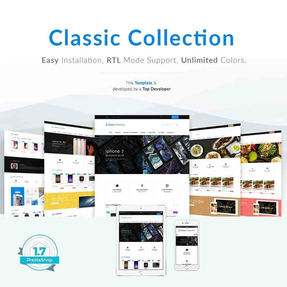 theme - Elektronica & High Tech - Classic Collection Pro - 1