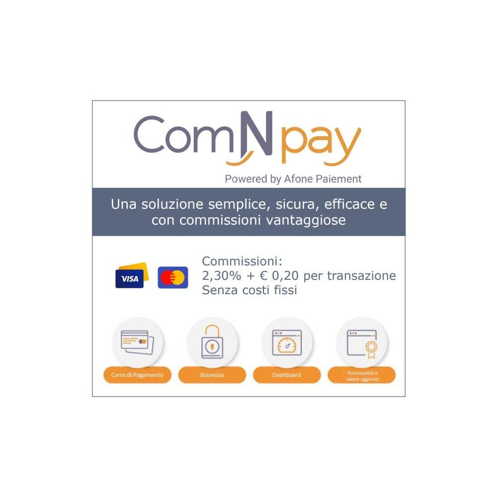 module - Pagamento con Carta di Credito o Wallet - ComNpay - 1