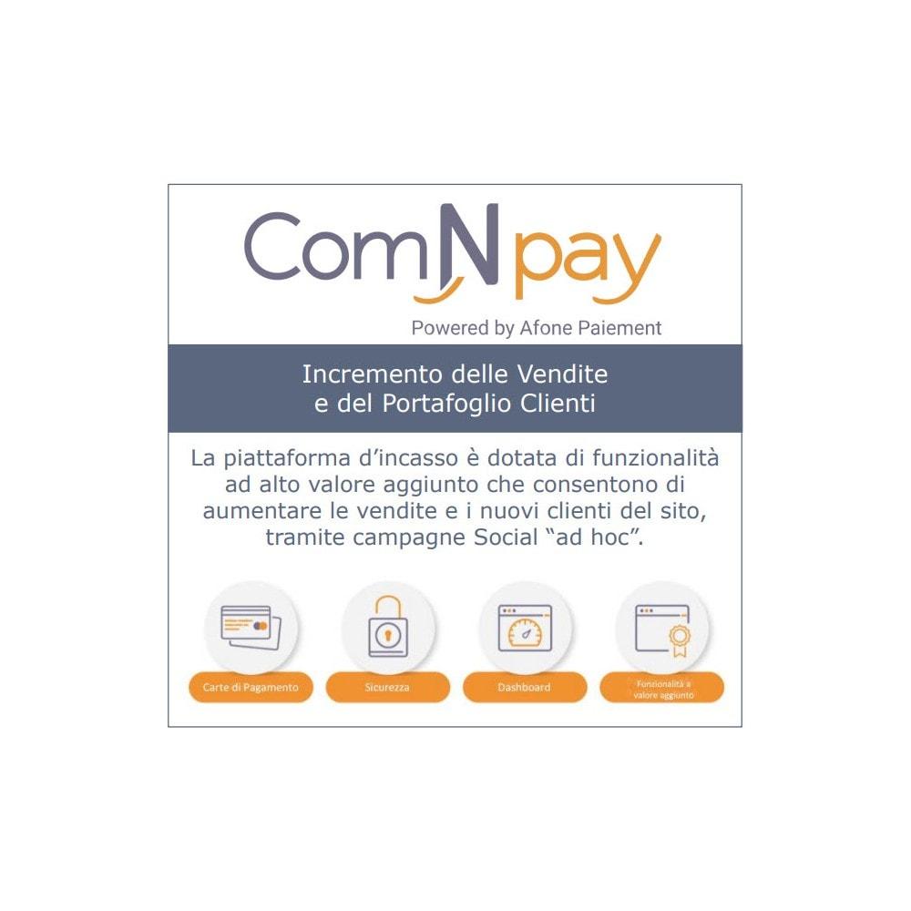 module - Pagamento con Carta di Credito o Wallet - ComNpay - 2