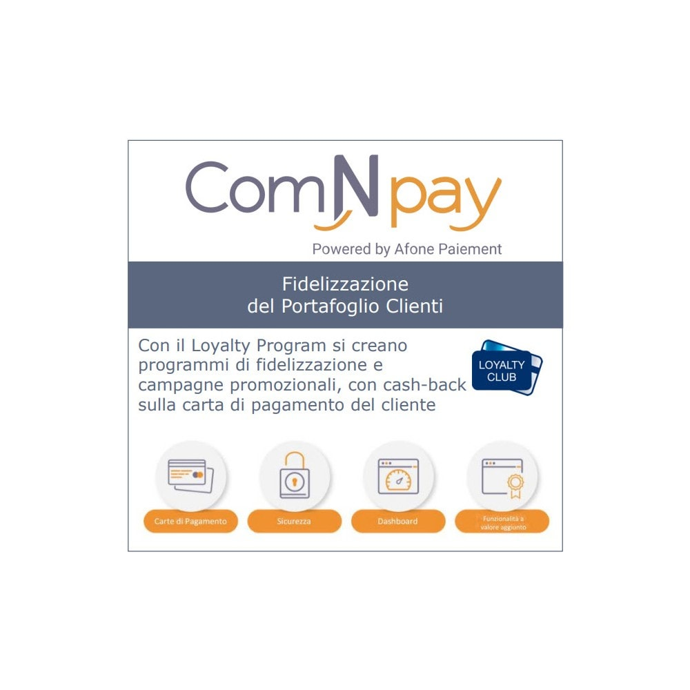 module - Pagamento con Carta di Credito o Wallet - ComNpay - 3