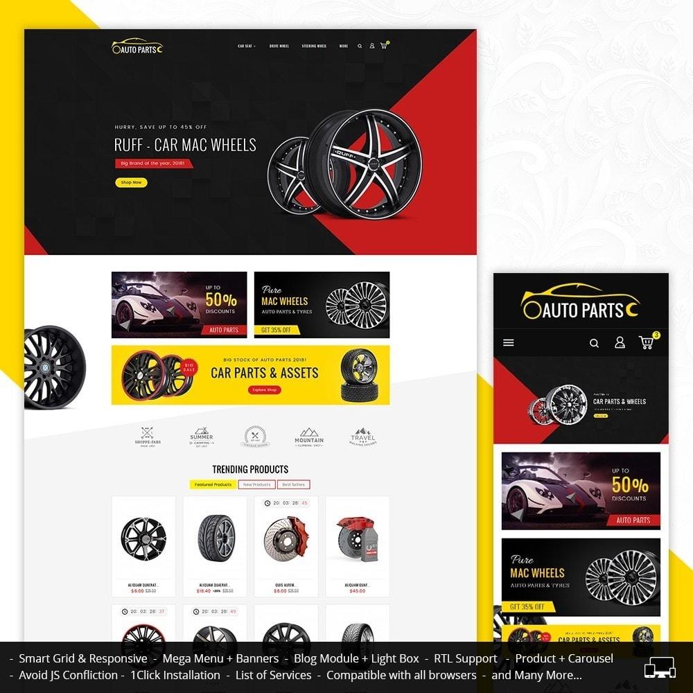 theme - Авто и Мото - Auto Garage - 1