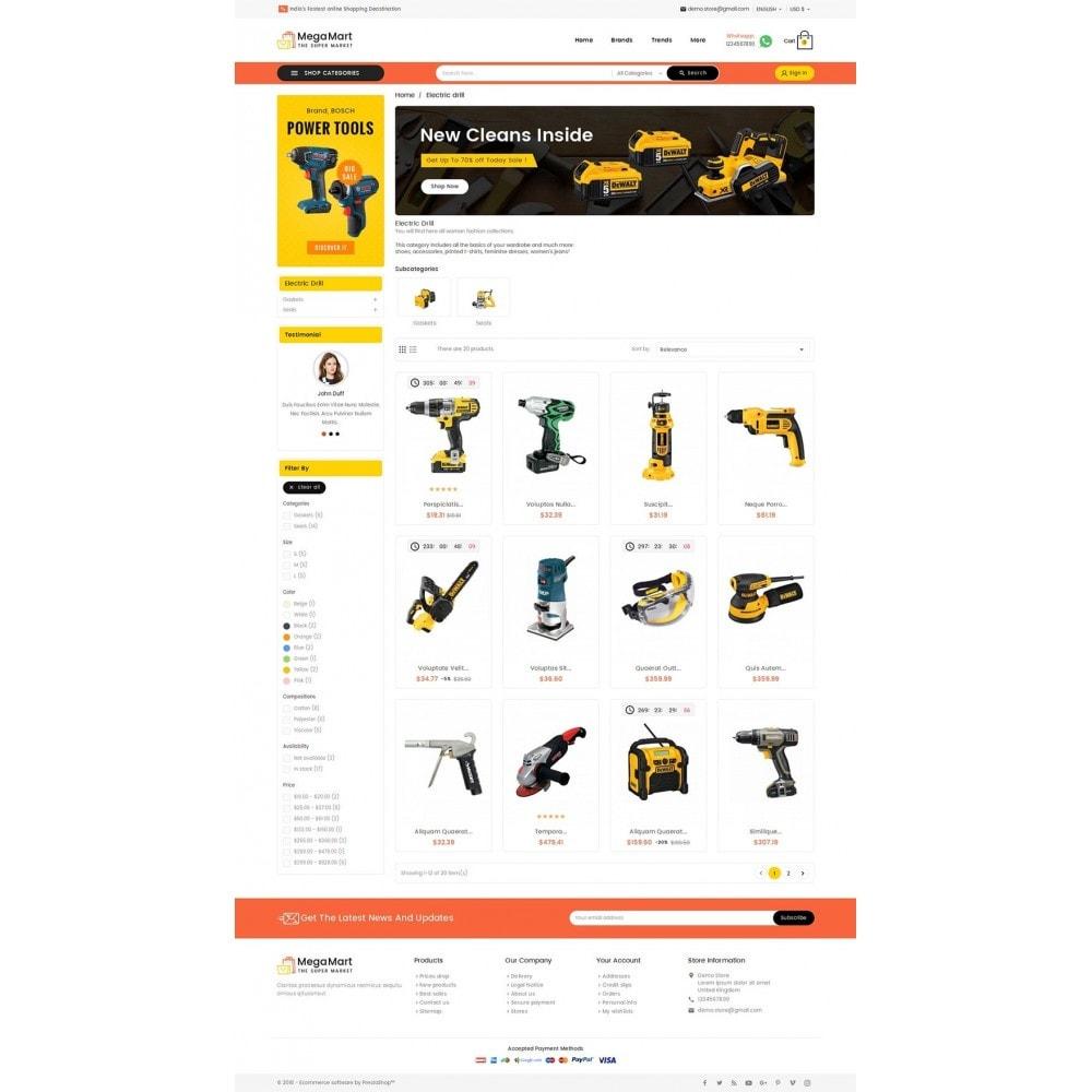 theme - Электроника и компьютеры - Mega Mart Tools Equipment - 3