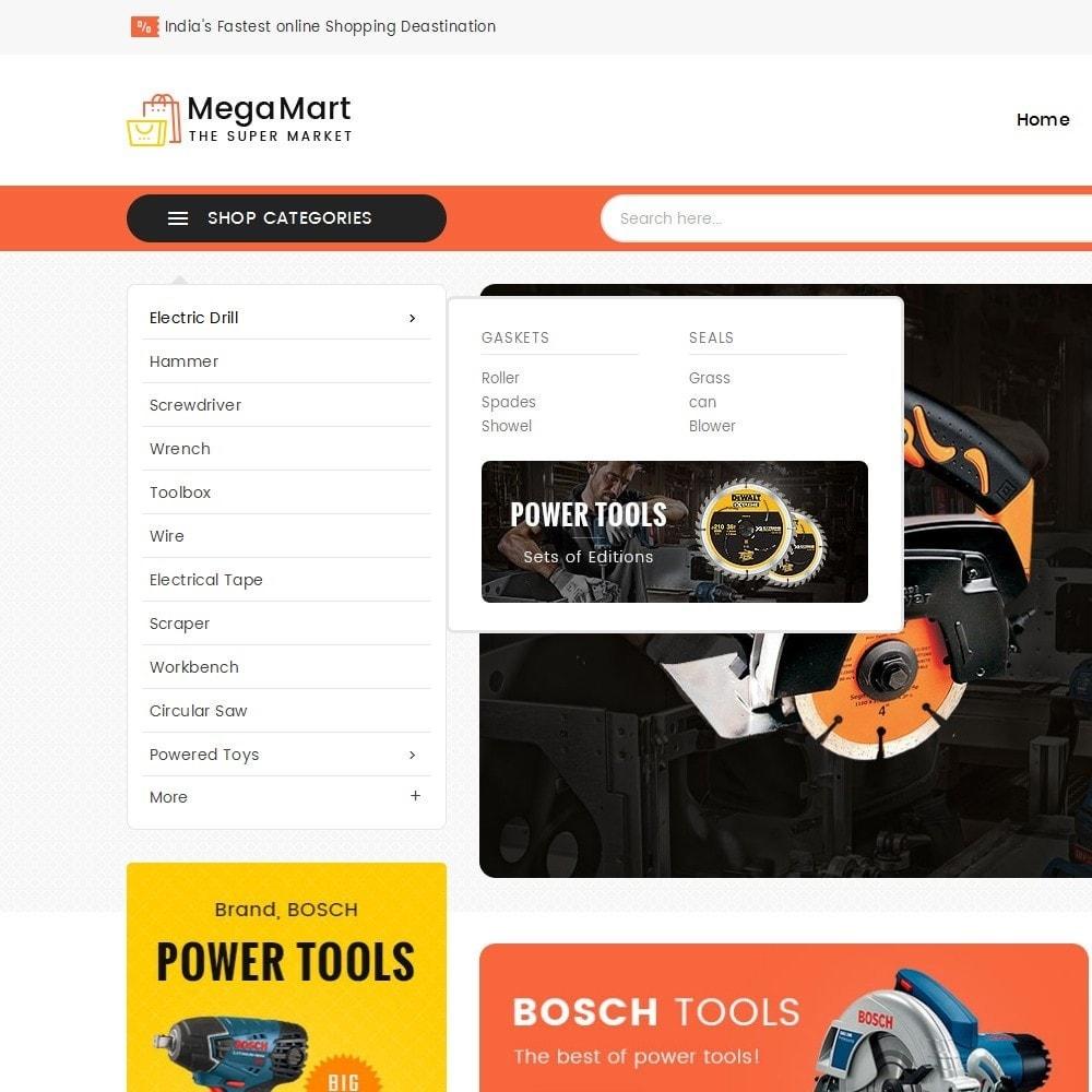 theme - Электроника и компьютеры - Mega Mart Tools Equipment - 8
